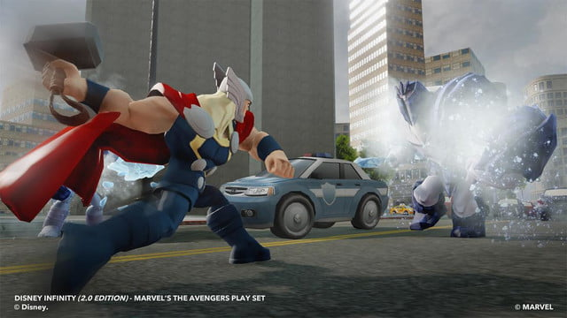 disney infinity 2 0 marvel super heroes comes ps4 xbox one fall avenger thor
