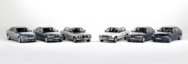 40 years of the BMW 3 Series