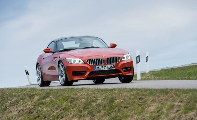 BMW Z4 front driving