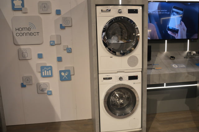 appliance trends kbis 2017 bosch home connect laundry