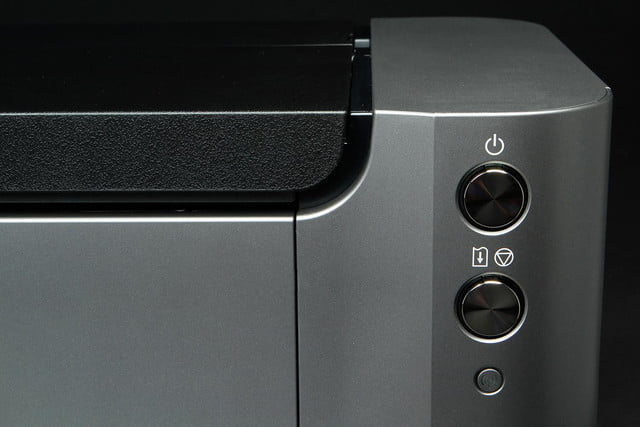 Canon Pixma Pro 100 front right buttons macro
