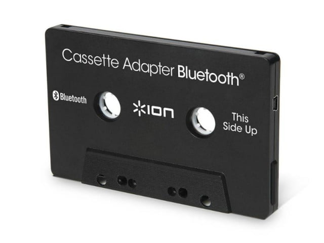 ion 39 s bluetooth enabled cassette adapter gives new life to. Black Bedroom Furniture Sets. Home Design Ideas
