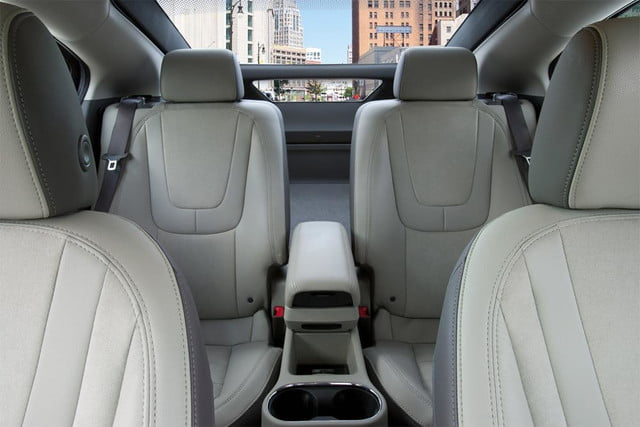 2013 chevrolet volt chevy review interior back from front