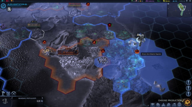 will first 250 turns civilization beyond earth shape screenshot 5