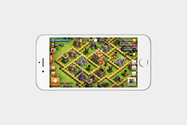 best iPhone games: clash of clans
