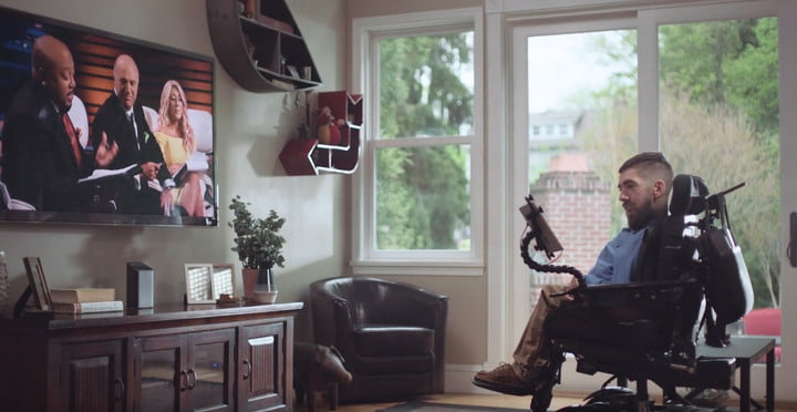 Comcast lets people with physical disabilities control a TV with just a glance