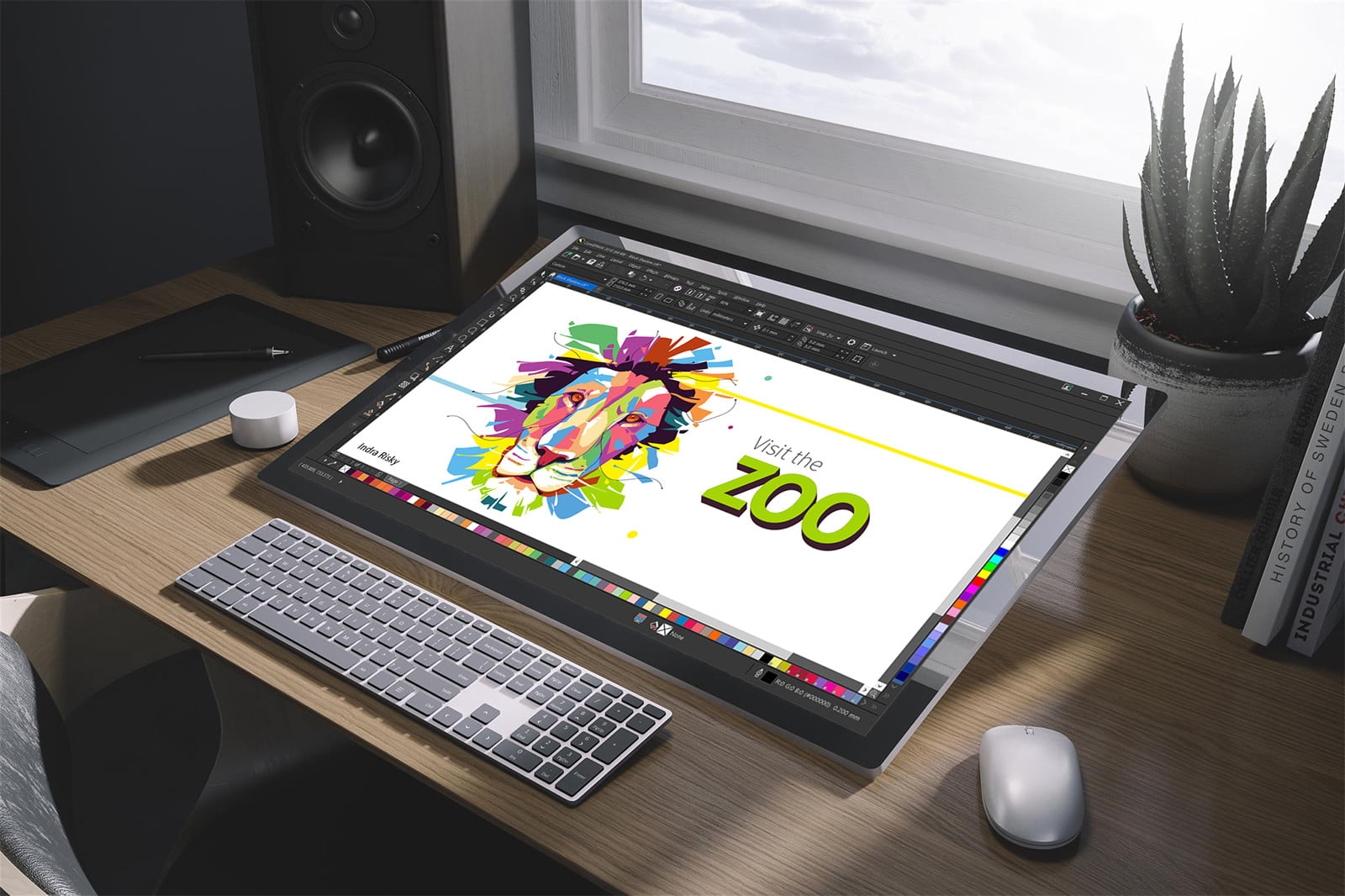 coreldraw 2018 speeds up workflows with new symmetry tool