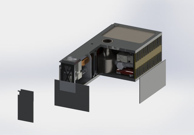a water powered cubesat may soon orbit to the moon cornell cubesate nasa 6
