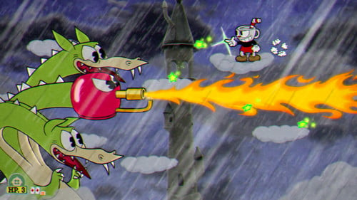 Cuphead Grim Matchstick Boss Guide: How to slay the dragon