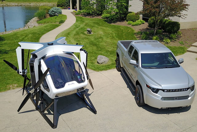 Workhorse SureFly comparison with vehicle
