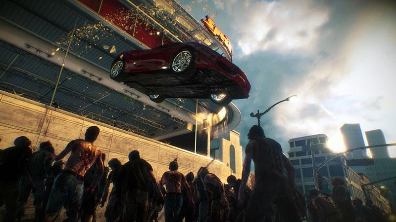 Dead rising 3 preview capcoms once cartoony zombie survival dead rising 3 screenshot vehicle malvernweather Image collections
