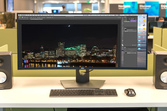 Dell UltraSharp U3818DW review photoshop