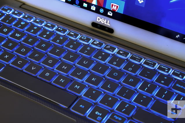 Dell XPS 13 9370 review | Backlit keyboard