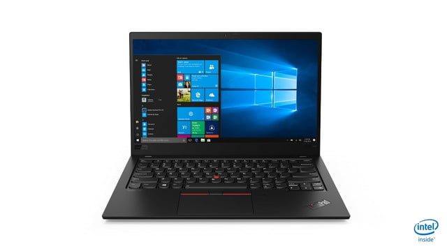 lenovo annouces new thinkpads with 10th gen cometlake 02 x1 carbon hero front facing jd 1