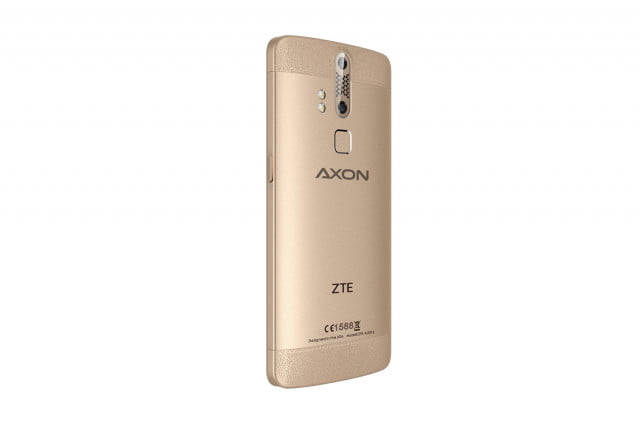 zte axon international sales news 1  phone version back angle