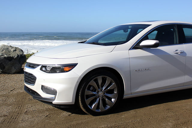 2016 chevrolet malibu first drive front section