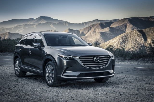 2016 CX-9 front angle