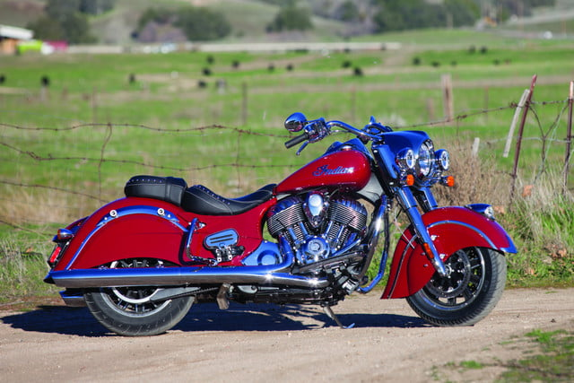 2016 Indian Springfield cruiser mode