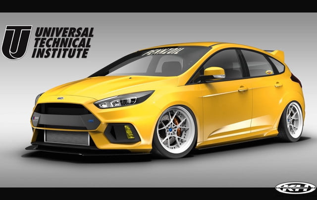 2017 Ford Focus RS by Universal Technical Institute, Tjin Edition and Pennzoil