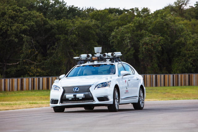 Toyota Platform 2.1 self-driving car