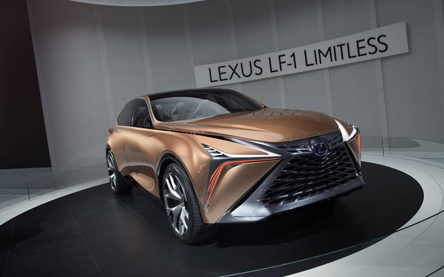 the lexus lf 1 limitless concept previews a new direction for flagship crossover 2018 detroit  13