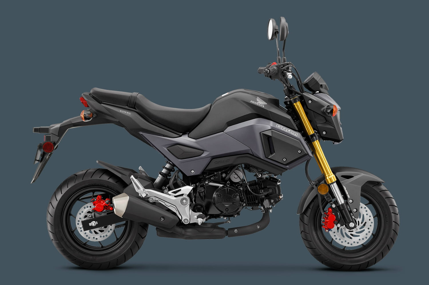 Honda Grom Specs >> The 2018 Honda Grom Motorcycle Adds Abs As An Option