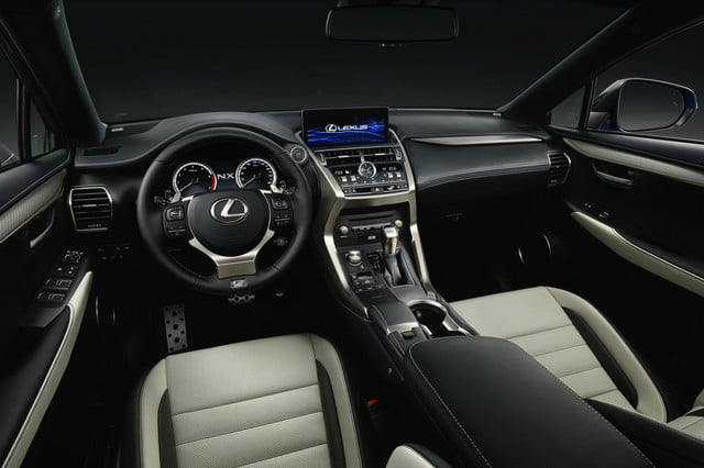 Lexus NX Compact Crossover Gets Updated for 2018 Inside and