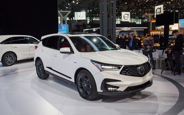 A Completely Redesigned 2019 Acura Rdx Arrives In New York