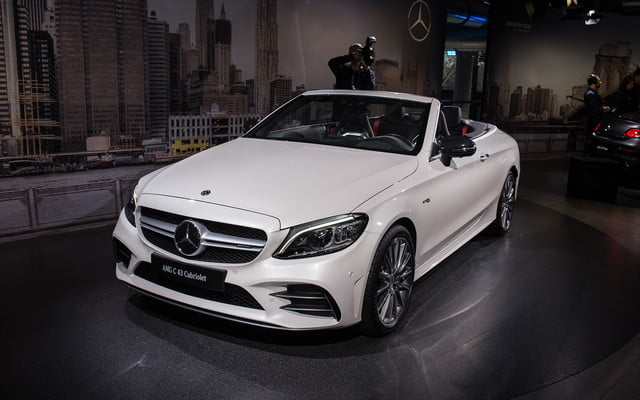 mercedes amg subtly updates c 63 lineup for new york 2018  2019 class