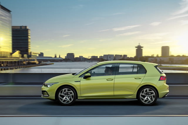 new 2020 volkswagen golf gets big tech powertrain upgrades official 6