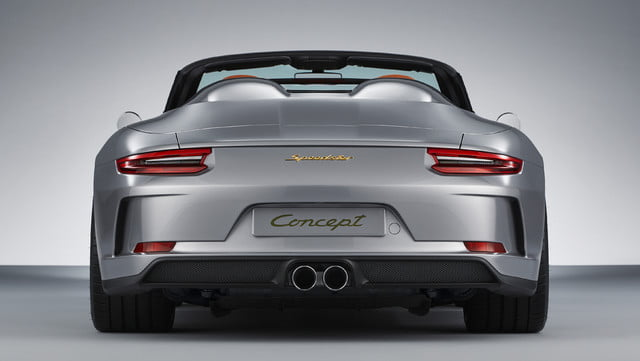 500hp porsche 911 speedster coming in 2019 as limited edition model 3749243 concept 2018 ag