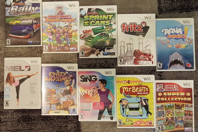 wii library complete collection 4