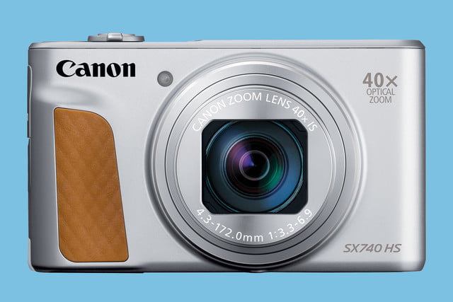 canon powershot sx740 hs announced 740 silver front hires
