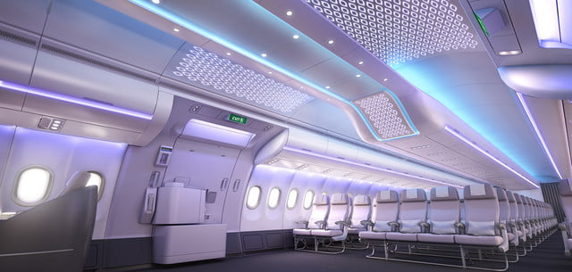 airbus airspace cabin concept a330neo by entrance area customized pattern 003
