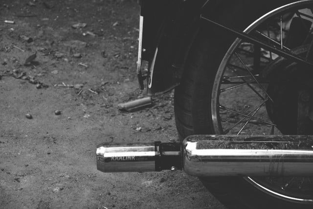 kickstarter ink air pollution capture on motorcycle