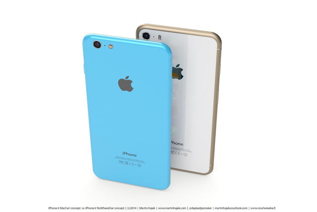 best upcoming phones apple iphone 6 back concept