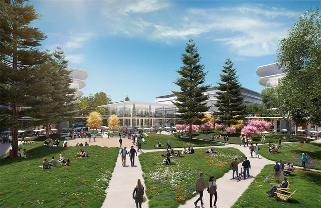 apple planning for second spaceship campus in silicon valley 3