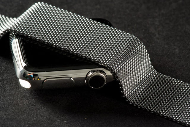 Apple Watch band and screen