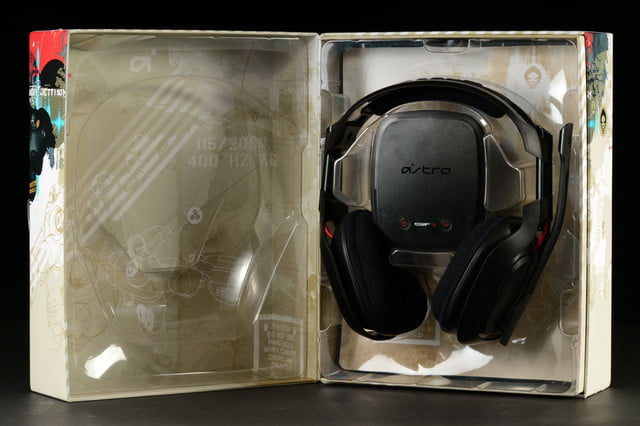 Astro A50 headset review out of box open