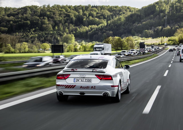 audi beyond initiative a7 piloted driving concept