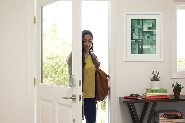 amazon and best buy deals on august home smart locks lock 3rd gen technology  silver works with alexa 02
