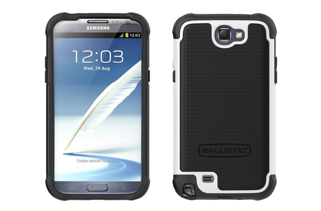 best galaxy note 2 cases ballistic shell gel series case