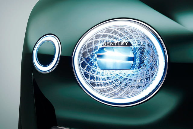 bentley exp 10 speed 6 concept official specs and pictures headlight press image