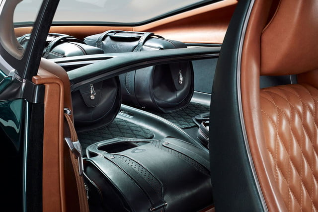 bentley exp 10 speed 6 concept official specs and pictures interior rear press image