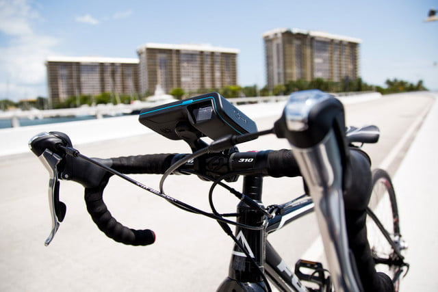 bycle case and app turns iphone into bike computer for tracking rides mount 15