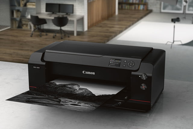 the stunning feature of canons new printer is not just tech but design canon imageprograf pro1000 4