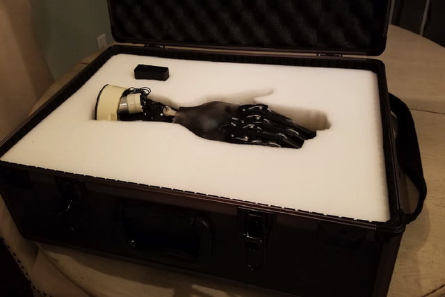 coffee maker bionic hand case