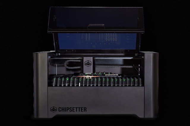 chipsetter one kickstarter  exterior with lid open print scale transparent bg