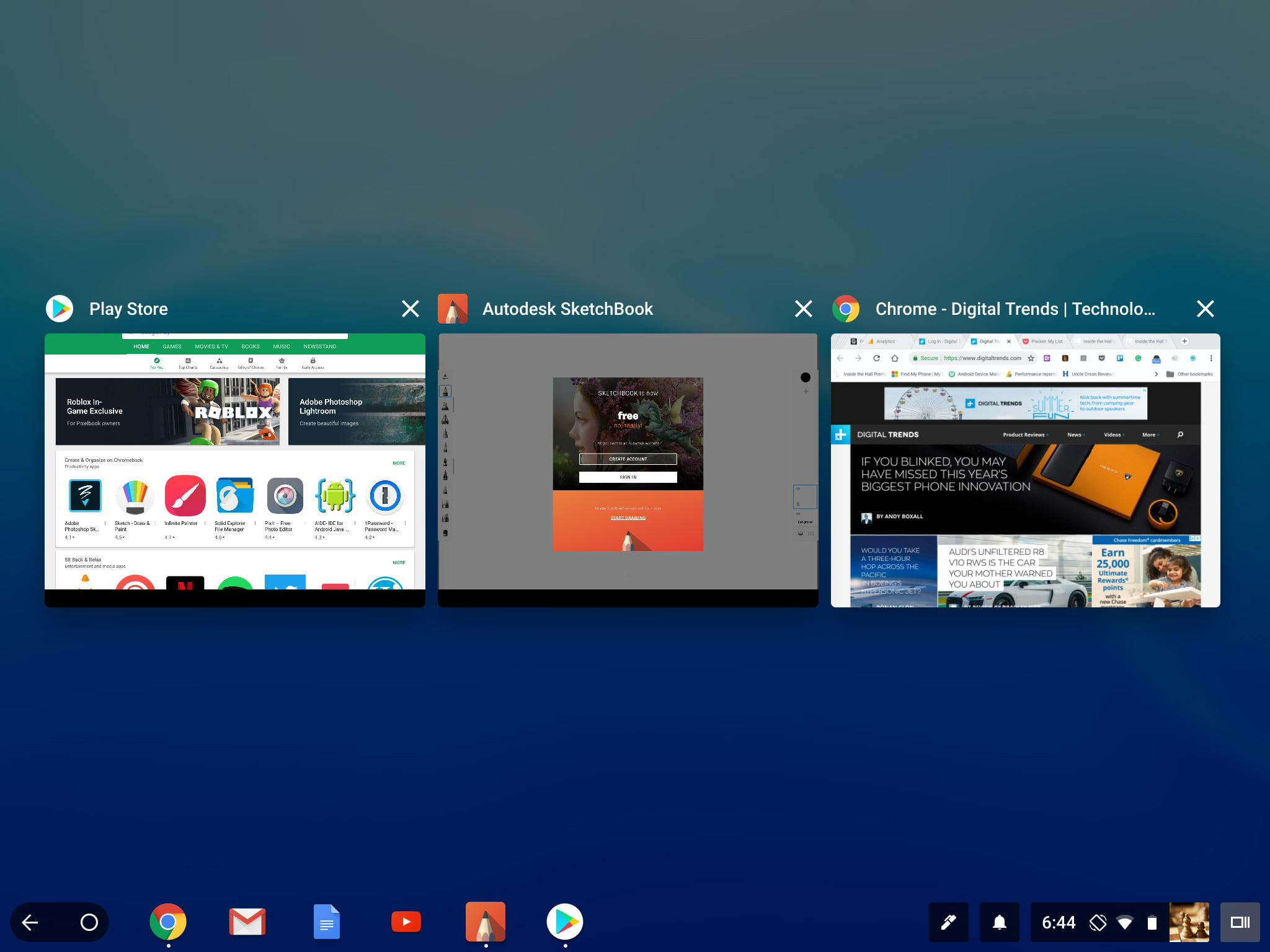 Chrome OS on a Tablet: The Good, the Bad, and the Ugly