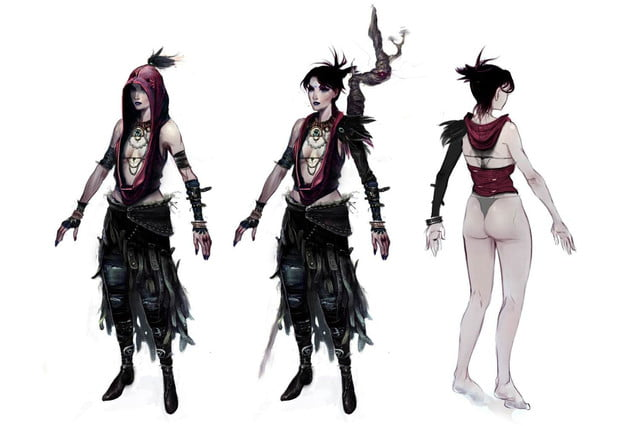 heres everything need know story leading dragon age inquisition dao concept art 15